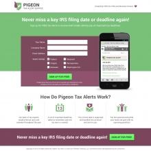 Pigeon Tax Alerts